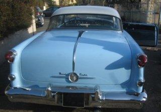 location oldsmobile holiday 1955 bleu blanc 1955 bleu blanc villiers sur orge. Black Bedroom Furniture Sets. Home Design Ideas
