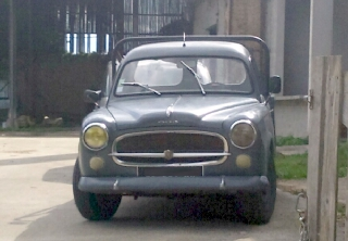 Peugeot 403 PICK UP 1959 GRIS BLEU