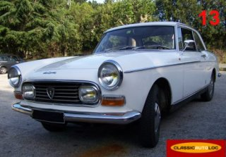 PEUGEOT 404 COUPE 1967 BLANC