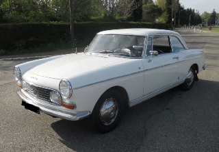 Peugeot 404 COUPE 1968 BLANC