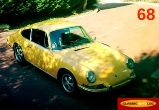 Porsche 912 1966 bahama yellow