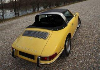 location voiture ancienne sans chauffeur fiche article?ref article=porsche  targa soft window jaune