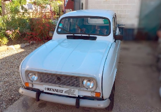 Renault 4L 1987 Blanche