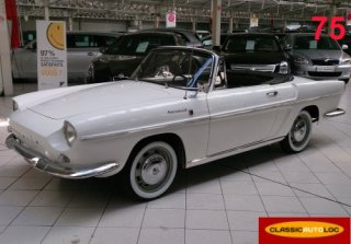Renault caravelle 1964 blanche