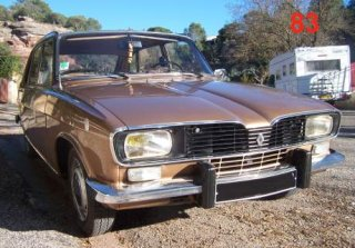 Renault R16 1976 Marron Metal