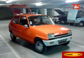 Renault R5 TL 1974 Orange