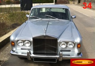 ROLLS ROYCE silver shadow 1971 gris clair