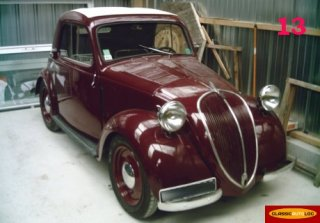 SIMCA 5 D�couvrable 1937