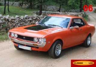 TOYOTA CELICA 1977 Orange