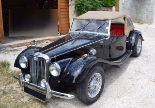 Triumph GENTRY type MG 1977 Noir
