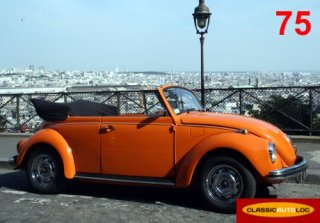 VW COCCINELLE CABRIOLET 1971